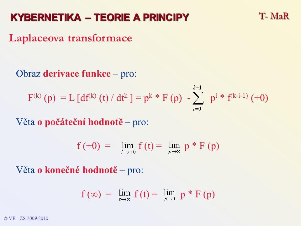 F(k) (p) = L [df(k) (t) / dtk ] = pk * F (p) - pi * f(k-i-1) (+0)